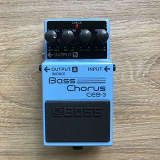 Boss Bass Chorus CEB3