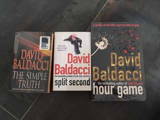 David Baldacci- the Simple Truth, Split Second, Hour Game