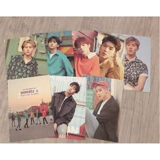 ON HAND MONSTA X Concert Goods - POSTCARD VER A (TINGI)
