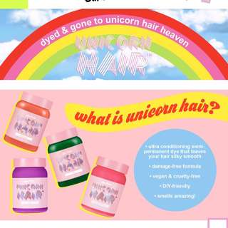 預訂lime crime unicorn hair