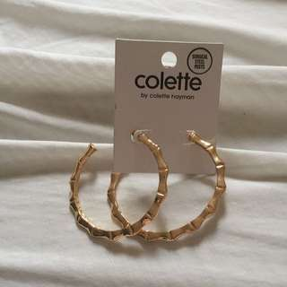 Colette gold hoops