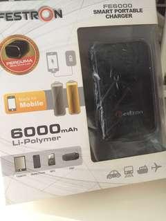 Festron FE6000 Smart Portable Charger