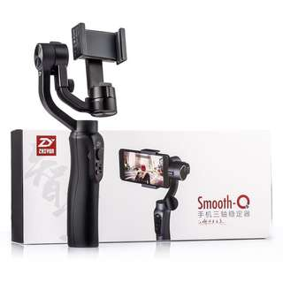 ZHIYUN Professional Smooth-Q 3-Axis Handheld Smartphone Stabilizer Colour Black