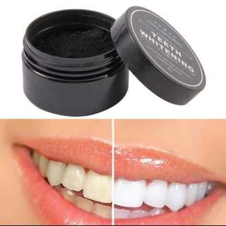 INSTOCKS teeth whitening charcoal powder