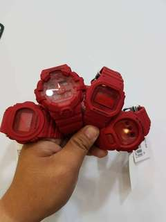 GShock Red Series/ Pre-Order Limited Slot Only