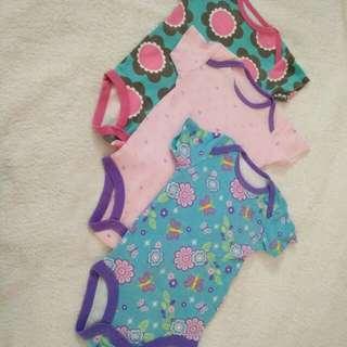 BUNDLE OF BABY GIRL ROMPER #Bajet20