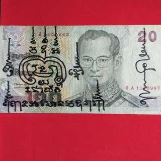Thai wealth note