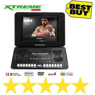 13.8 Portable Dvd Player Xtreme XT1380