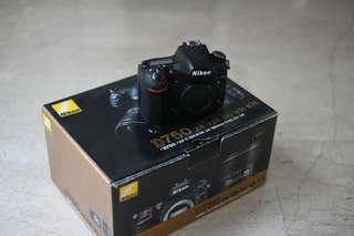 D750 with Warranty (Local Set)