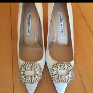 Manolo Blahnik heels 70mm, size 36, 99% new, worn once only