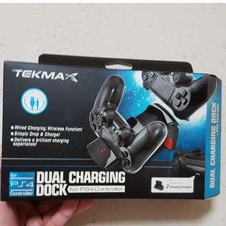 [BNIB] TEKMA Dual Charging Dock for PS4