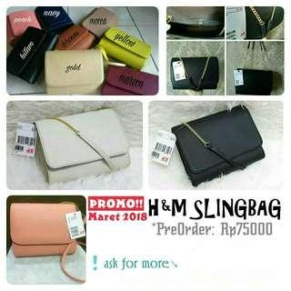 H&M slingbag (PROMO!!)