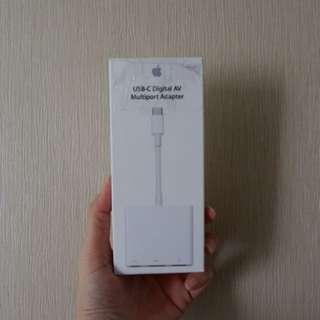 New USB-C Digital AV Multiport Adapter Apple