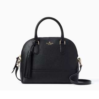 SALE Kate Spade McCall Street Carli Dome Satchel Handbag Slingbag Crossbody Black