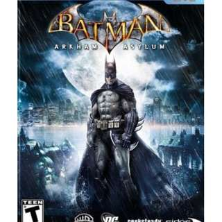 Batman Arkham Asylum [GAME PC LAPTOP]