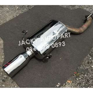 "Exhaust Muffler Fgk Legalis R Evolution 2.7"" Japan"