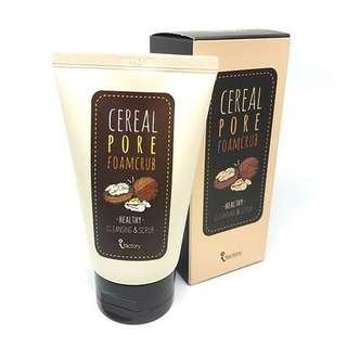 Cereal Pore Foam Scrub