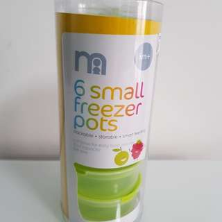 Mothercare Green Small Freezer Pots