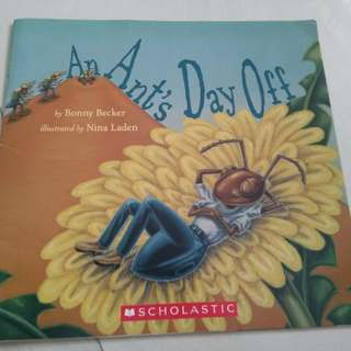 An ant's day off scholastic book