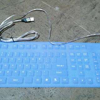 Keyboard Rubberized Water Proof
