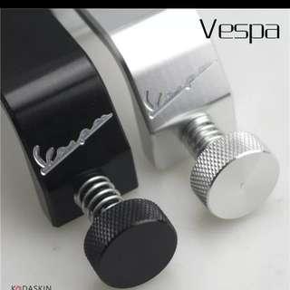 Vespa bag frame hook crotchert grips for all Vespa gts,gtv,lx, super