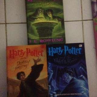Paket Harry Poter 5-7