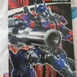 Transformers movie adapation comic manga anime