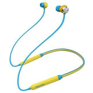 Bluedio TN 頸掛式運動藍牙耳機立體聲ANC 雙咪降噪高續航音樂耳機 耳筒