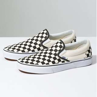 Slip On Checkerboard