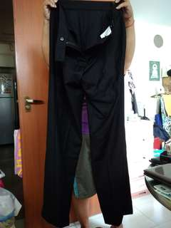 Formal Black Long Pants