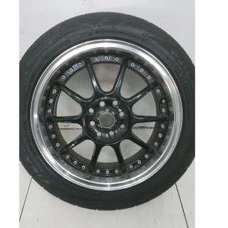 16 '' Sport Rim With Tyre 4x100 4x114.3 (SR981)
