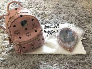 Mcm mini bagpack
