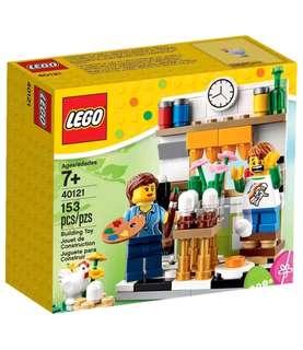 Lego Seasonal Painting Easter Eggs 40121