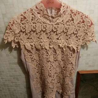 Lace Top/ Blouse Made In Korea