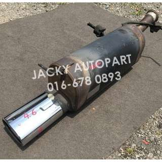 "Muffler Exhaust Devil Sflow Peugeot 307 2"" France"