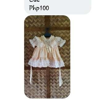 Preloved Pangbinyag Gown/dress