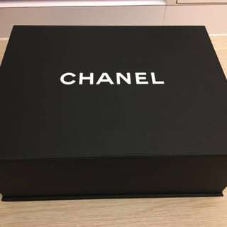 Chanel 磁石紙盒 袋 細size