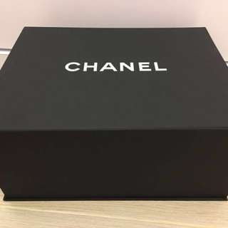 Chanel 磁石紙盒 袋 大size