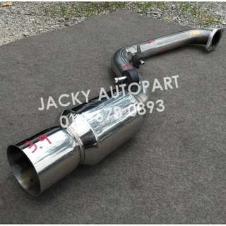 "Muffler Exhaust FGK Power Getter Kei Car 2.3"" Jpn"