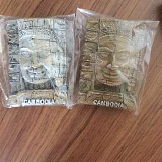 Fridge Magnet (Bali + Cambodia)