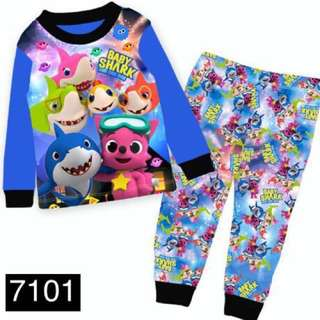 Babyshark pinkfong sleepwear