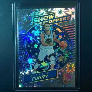 2017-18 Revo - Steph Curry Show Stoppers Impact