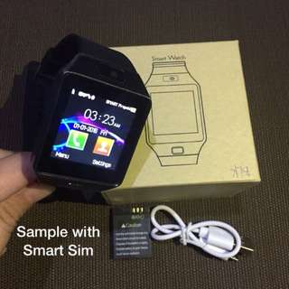 BRAND NEW SMART WATCH (BLACK)