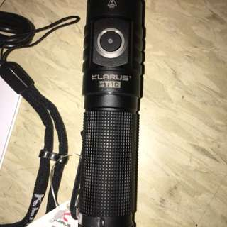 Klarus Torchlight With Battery