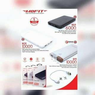 Power Bank Mofit 6000 MAH