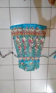 Dress batik kamboja