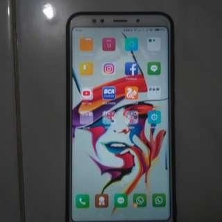 Xiaomi redmi 5 plus warna gold 4/64gb fullset umur 5 hari