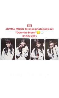 "JOVIAL MOOD 1st mini photobook set ""Over the Moon"""