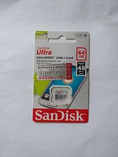 🔆清貨價🔆Sandisk Micro 64GB