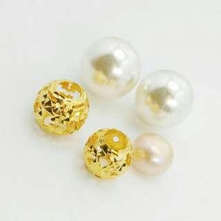 Gold 916 Charm Bulat Pandora